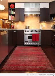 kitchen carpeting ideas 15 area rug designs in kitchens home design lover
