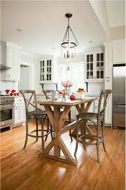 counter height kitchen islands cozy transitional kitchen with counter height table instead of
