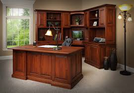 Office Corner Desk With Hutch Place A Corner Desk With Hutch And A Wing In A Room
