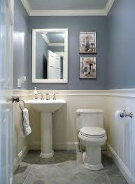 Kohler Bathrooms Designs Kohler Devonshire Toilet Powder Room Traditional With Beadboard