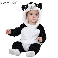 costumes for baby boy aliexpress buy newborn baby rompers winter flannel stitch