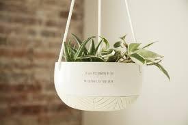 large ceramic hanging planter plant hanger succulent pot