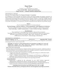 Sap Bo Resume Sample by Resume Examples Professional Progressions