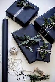 black gift wrapping paper roll 7 ways to pull black gift wrap this year wrapping ideas