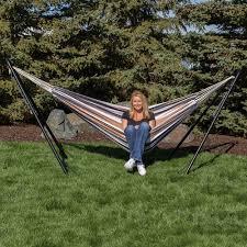 sunnydaze universal multi use heavy duty steel hammock stand 2