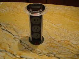 new pop up electrical outlets for kitchen islands taste kitchen pop up power sockets interior design ideas kitchens popup