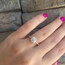 beautiful rose rings images Gold engagement rings tacori jpg