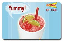fast food gift cards satisfy your cravings for fast food using a sonic gift card