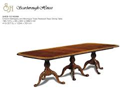 Rope Table L Scarborough House Sh03 101404m Pedestal Rope Dining Table