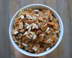 carrot cake oatmeal the healthy sweet potato