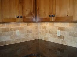 Travertine Kitchen Backsplash Honed Travertine Backsplash Home Interior