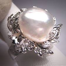 best pearl rings images 64 best pearl jewelry antique and vintage images jpg