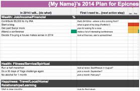 Goals And Objectives Template Excel Goal Setting For Web Designers Themes