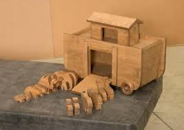 big noah s ark animals handcrafted wood bible set saving