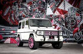 pink mercedes customized mercedes benz g550 exclusive motoring miami fl