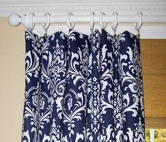 Navy Blue And White Curtains Blue Curtains Blue Curtains Navy Curtains Blue Damask