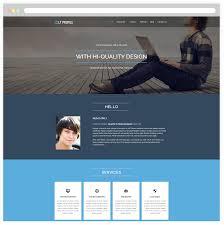 lt profile u2013 free responsive cv profile wordpress theme