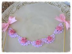 Shabby Chic Banner by Pink Banner Shabby Chic Bow Ribbon Banner Personalized