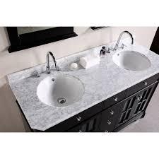 Fresca Oxford  Double Sink Bathroom Vanity Antique White Finish - 48 bathroom vanity antique white
