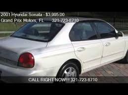 2001 hyundai sonata for sale 2001 hyundai sonata gls 4dr sedan for sale in palm bay fl 3