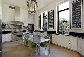 kitchen island breakfast table modern kitchen with soapstone counters by the corcoran