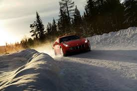 camo ferrari ferrari ff shows off its awd in snowy new pictures updated with
