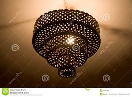 Chandelier Metal Metal Chandelier Stock Photo Image Of Light L Chain 3593104