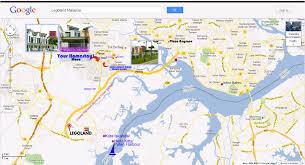 Legoland Map October 2013 Homestay Nearby Legoland Malaysia Johor Bahru