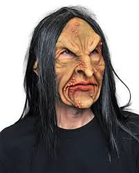 amazon com deviant warlock zombie witch ugly horror latex