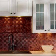 Moonstone Copper Backsplashes Countertops  Backsplashes The - Copper tile backsplash