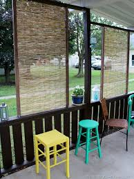 Outdoor Bamboo Rugs For Patios Diy Bamboo Privacy Screen Screens Outdoor Privacy And Bamboo Fence