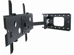 Tv Wall Mount Monoprice 8586 Full Motion Corner Tv Wall Mount Max 125 Lbs 32 60