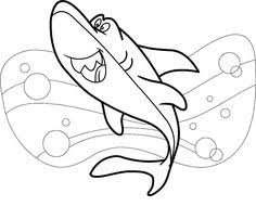 sharks coloring pages 3d sharks colouring book sample pages dover publications