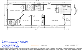 Mobile Home Floor Plans Double Wide by Community Series Double Wide Homes Karsten El Dorado