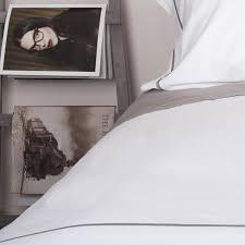 luxury cool grey cross border corded u0026 white duvet covers 100
