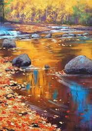 Impressionist Landscape Painting by Graham Gercken 1960 Impressionist