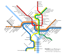 Map Dc Will The Purple Line Appear On The Metro Map U2013 Greater Greater