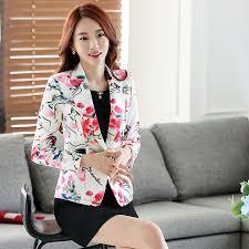 ladies short suit jackets in women blazer elegant double breasted