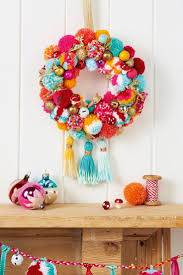 all the poms make a pom pom wreath in the latest christmas issue