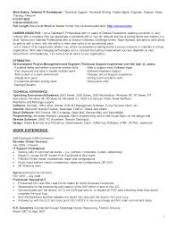 It Support Engineer Resume Job Description For Service Desk Analyst How To Write A Resume