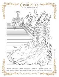 9 cinderella movie coloring sheets cinderella