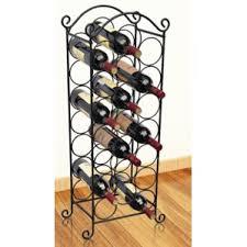 black wine racks wayfair co uk