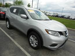 nissan rogue third row pre owned 2015 nissan rogue sv sport utility in indianapolis