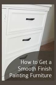how to get a smooth finish when painting kitchen cabinets how to get a smooth paint finish painted furniture ideas