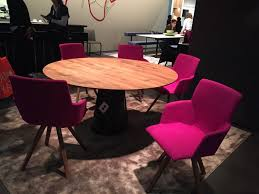 Round Dining Table With Armchairs A Trip Into The World Of Stylish Dining Tables