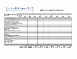 template advertising campaign business plan template sample