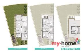 Twin House Plans Palm Hills Katameya Extension New Cairo Twinhouse For Sale 6