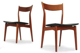 Teak Mid Century Modern Furniture by 4 Sculptural Teak Dining Chairs U2014 Furniture 1950 Teak Mid