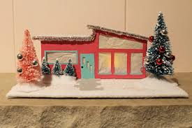 model house decoration make things for home xmas model house decoration pattern and tutorial