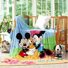 Mickey And Minnie Mouse Bedroom Set Mickey And Minnie Mouse Kids Fleece Blankets Kids Bedding Sets